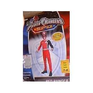 Power Rangers SPD Red Ranger Halloween Costume size 7 8