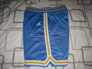 UCLA Bruins Authentic Road Blue Basketball Game Shorts 44 XL