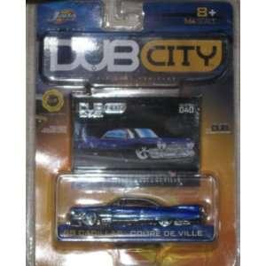 Jada Dub City 1:64 1959 Cadillac Coupe De Ville: Toys & Games