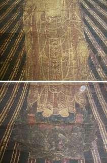EDO Period Japanese Amida Nyorai Buddhist Buddha Painting Scroll