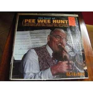 Pee Wee Hunt Best of (Vinyl Record) pee wee hunt Music
