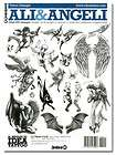 Tattoo Supplies Angels wings fairies fairy book drawing