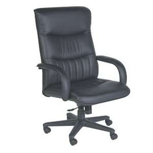 Big & Tall High Back Leather, Executive Chair, Torsion