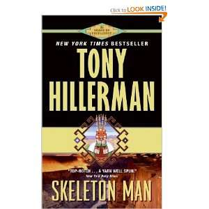 SKELETON MAN Tony Hillerman Books