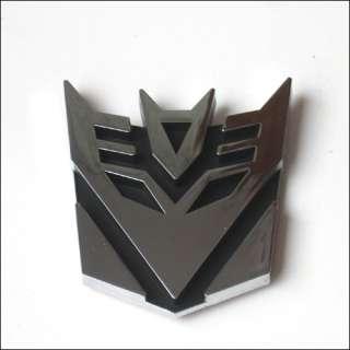TRANSFORMERS Decepticon Car grill Emblem Badge Sticker
