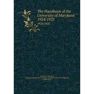 (University of Maryland, College Park) University of Maryland Books