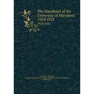 (University of Maryland, College Park) University of Maryland Books