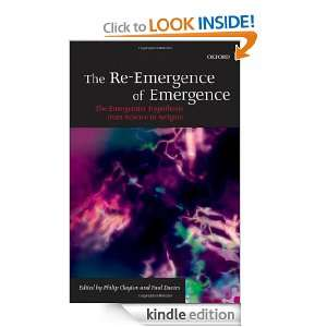 of Emergence: The Emergentist Hypothesis from Science to Religion