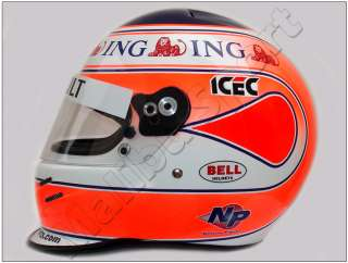 NELSON PIQUET JR 2008 F1 REPLICA HELMET SCALE 11
