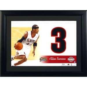 UD Jersey #s Allen Iverson Philadelphia 76ers: Sports