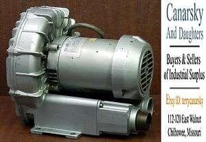 USED GAST   R4310A 2 REGENAIR BLOWER VACUUM UNB
