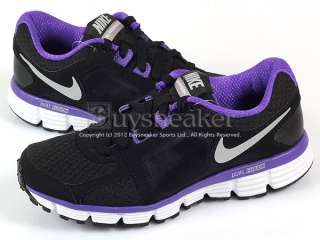 Nike Wmns Dual Fusion ST 2 MSL Black/Silver Purple Light Running 2012
