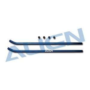 Align H60137 84 T Rex 600 Skid Pipe Blue: Toys & Games