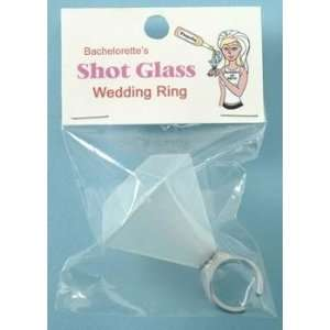 Shot Glass Wedding Ring: Health & Personal Care