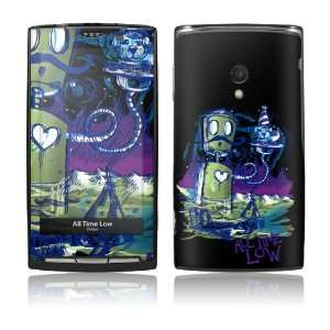 Sony Ericsson Xperia X10  All Time Low  Robot Skin: MP3 Players