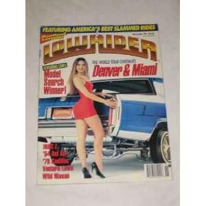 Magazine November 1994 World Tour Denver Miami Model Search Winner