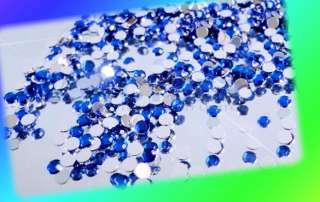 3000Color Teardrop Nail Art Rhinestone Deco Glitte Gems