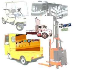 Forklift trucks, Golf Carts, RVs, Boats, Scooters,electric