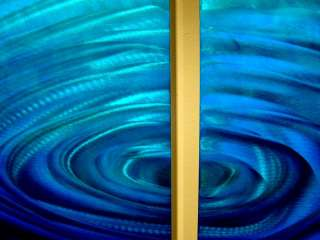 Abstract metal wall art Contemporary Painted sculpture