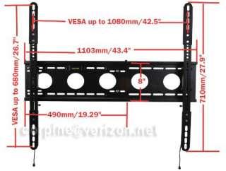 Large Plasma LCD Flat Panel Tilt TV Wall Mount 27 32 37 42 40 50 52 55