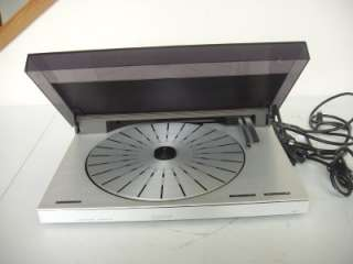 Olufsen Beogram 5500 Linear Tracking Turntable w/ MMC5 Manual & Box