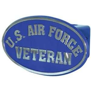 U.S. Air Force Veteran Trailer Hitch Cover (Blue