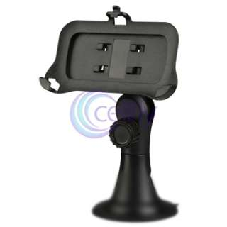MINI USB CAR Charger Data Sync Cable+Mount Holder Cradle FOR IPHONE 3G