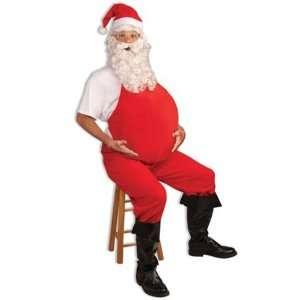 Santa Father Christmas Big Stomach Belly Stuffer Fancy