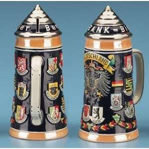 German Ceramic Beer Stein Coin Money Bank: Kitchen & Dining