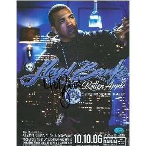 Lloyd Banks Autographed 8x11 promotional flyer (Rapper)