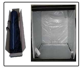 Premium Hydroponic Tent 78x78x78 Hydro Cabinet Grow Box