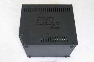 AUDIENT Black Series BB4 4 Space Rack Enclosure Lunch Box for Audient