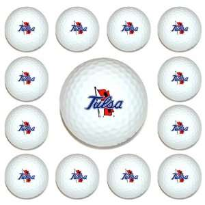 Tulsa Golden Hurricane Team Logo Golf Ball Dozen Pack