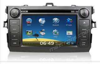 Car DVD GPS Navi Headunit Autoradio For TOYOTA COROLLA 2007   2010