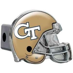 Georgia Tech Metal Helmet Trailer Hitch Cover Sports