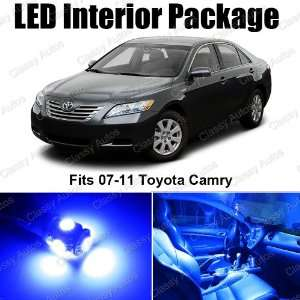 Toyota Camry BLUE Interior LED Package (6 Pieces)