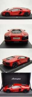 18 MR Lamborghini Aventador LP700 4 Gloss Metallic Rosso Fuoco LE20
