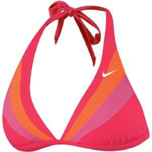 Nike Rainbow Motion Halter Top Female Sports & Outdoors