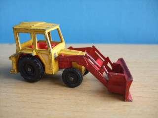 Vintage Diecast CORGI JUNIORS Massey Ferguson Tractor