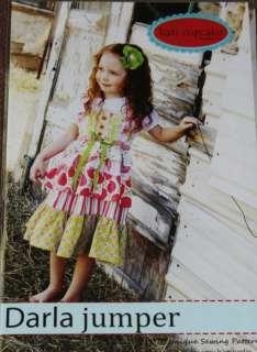 Darla Jumper Kati Cupcake Sewing Pattern girl dress