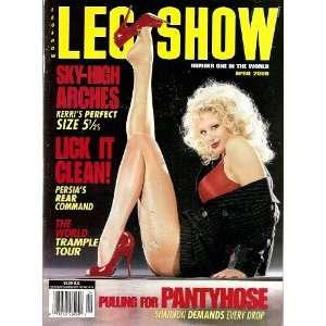 Leg Show Magazine April 2000 Lick It Clean: LEG SHOW: Books