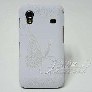 Flowers butterfly hard Cover Case For Samsung S5830 Galaxy Ace #B61