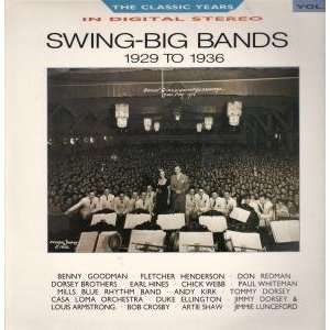 SWING   BIG BANDS 1929 1936 LP (VINYL) UK BBC 1988