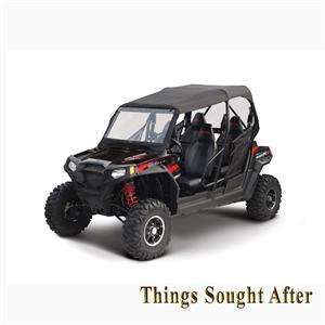 Soft Top Enclosure with Front Rear Windows for POLARIS RZR 4 UTV Roll