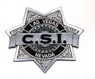 CSI Las Vegas Logo Patch  4 Crime Scene Investigator