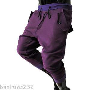 TP18) THELEES Mens Casual Semi baggy Cotton Training Pants