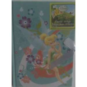 Disney Fairies Tinkerbell Journal with Stickers: Office