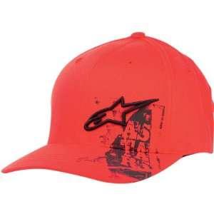 Mens Flexfit Sports Wear Hat/Cap   Red / Small/Medium Automotive