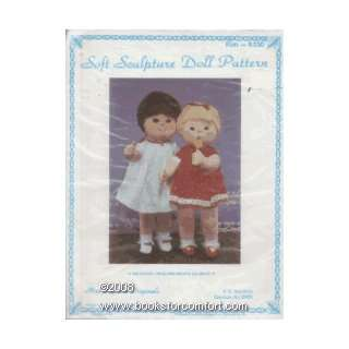 Soft Sculpture Doll Pattern, Kim, K230 Martha Holcombe
