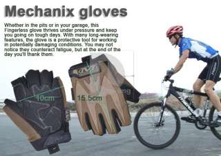 Bicycle Bike Sports/Airsoft/Paintball/Swat/Military/Army fingerless